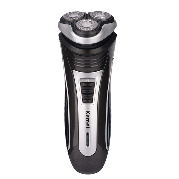 Rechargeable 3D Triple Floating Blade Heads Electric Shaver