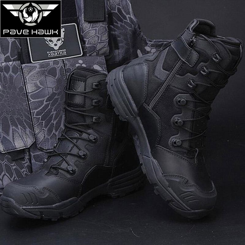 Outdoor Military Hiking Men Tactical Boots