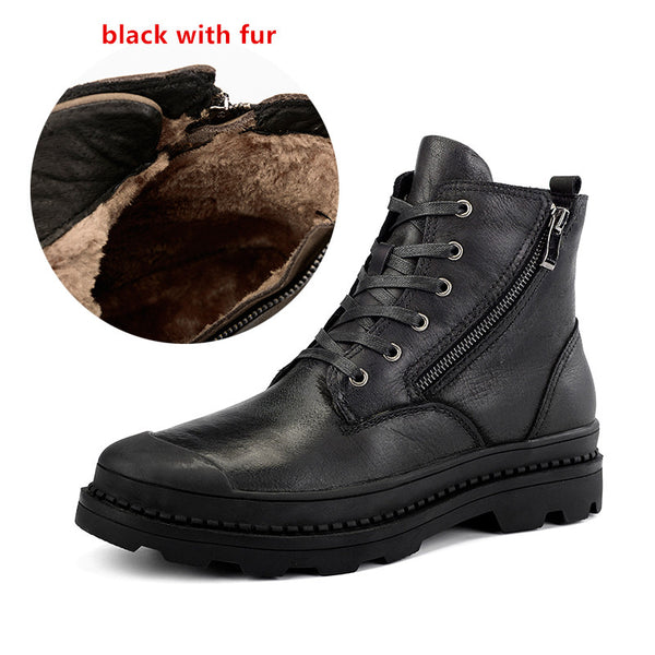 Handmade Retro Cow Leather Men Boots(BUY 2 TO GET 10% OFF)