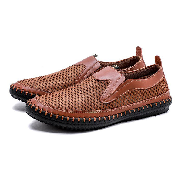 Big Size Summer Men Breathable Mesh Shoes