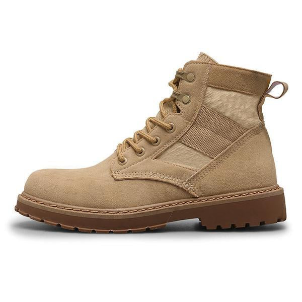 Winter Casual Man Cow Suede Boots