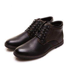 Load image into Gallery viewer, Men Shoes Boots Casual Fashion High-Cut Lace-up Warm Hombre