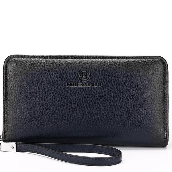 Wallet - Luxury Men's Zipper Long Wallet