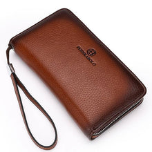 Load image into Gallery viewer, Wallet - Luxury Men's Zipper Long Wallet