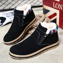 Load image into Gallery viewer, New Flats Warm Man Ankle Boots Plush Soft