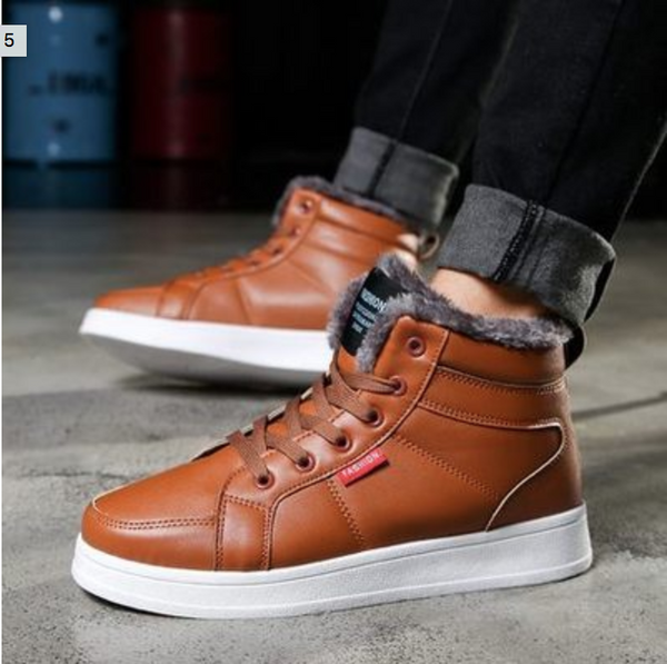 Winter New Men's Casual Cotton Shoes
