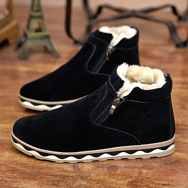 Hot-selling Men's Fashion Solid Warm Winter Snow Boots