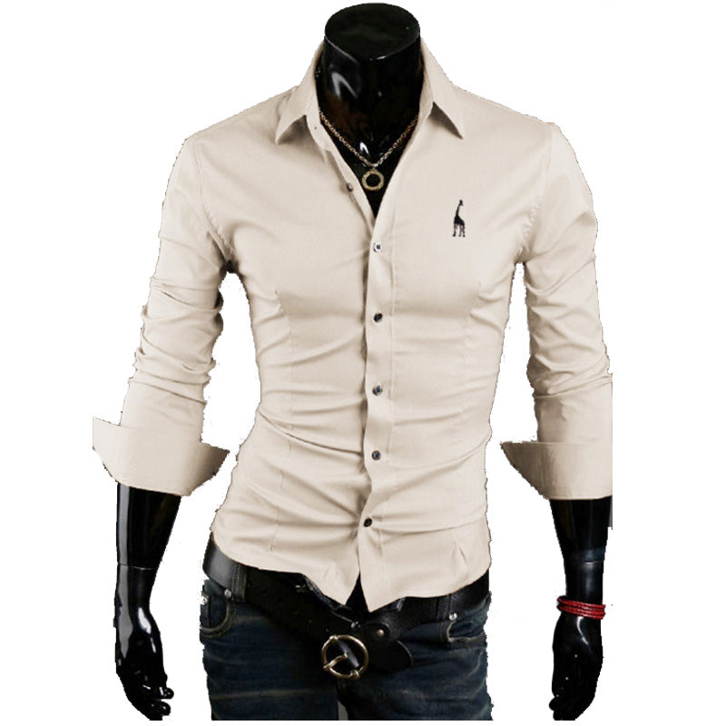 New Designer Slim Fit Mens Casual Shirt