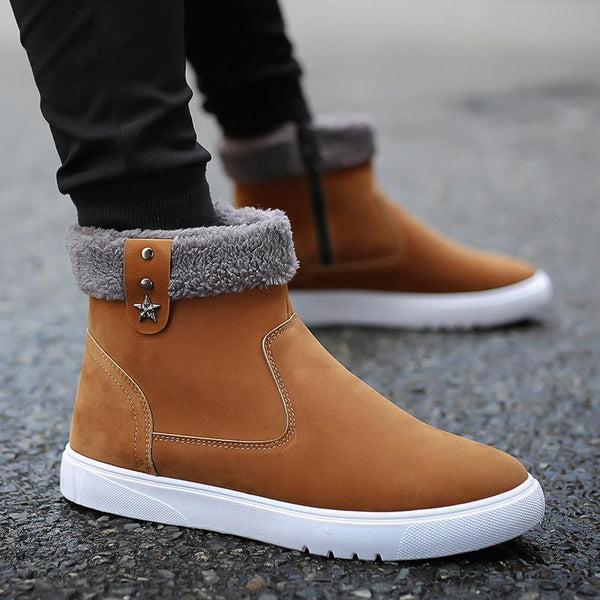 New Winter Men's Cotton Boots