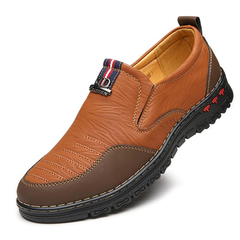 Winter Split Casual Shoes Men Loafers Slip-On Shoes