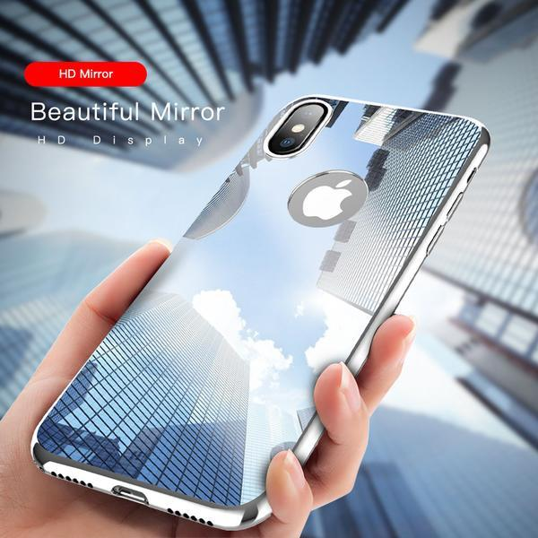 Ultra Slim Plating Mirror Case For iPhone X 8 7 6 5 + Film(BUY 2PCS TO GET 15% OFF)