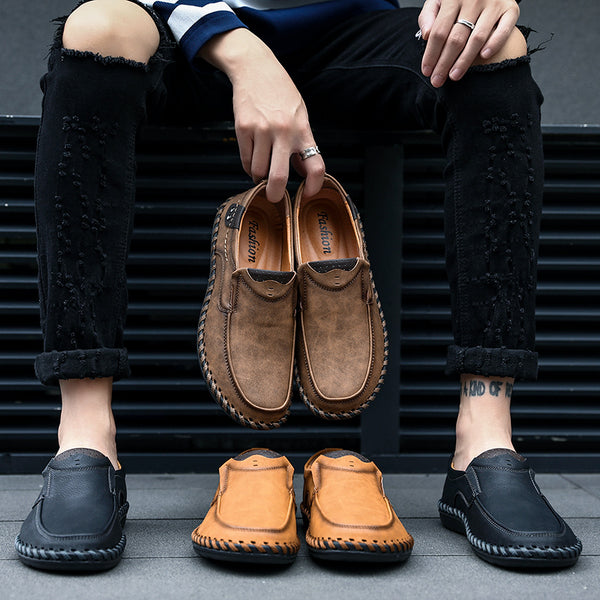 Spring Men Breathable Handmade Casual Shoes(BUY 2PCS TO GET 10% OFF)