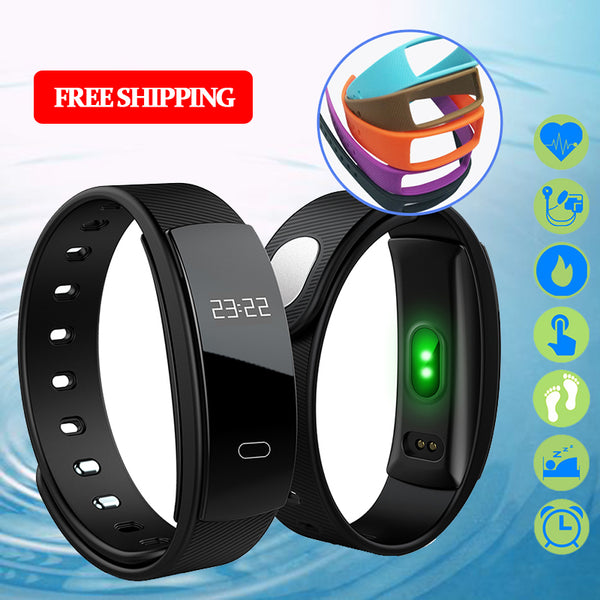 Fitness Heart Rate Blood Pressure Tracker Smart Bracelet