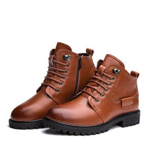Load image into Gallery viewer, Warm Cotton Genuine Leather Men Boots