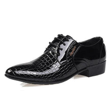 Load image into Gallery viewer, England Style Men Business Dress Shoes