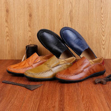 Load image into Gallery viewer, Fashion Leather Male Shoes Plus size to 13