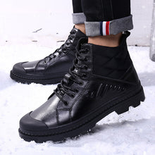 Load image into Gallery viewer, Winter Warm Men Big Size Leather Ankle Boots(BUY 2PCS TO GET 10% OFF)