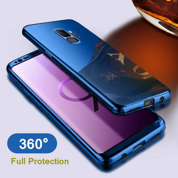 360 Degree Mirror Plating Case For Samsung S9/S8 Plus/S7/Note 8(BUY 2 TO GET 10% OFF)