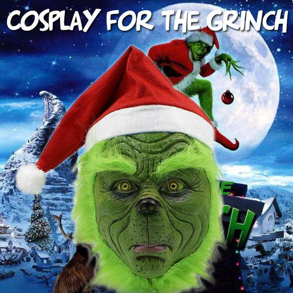 Funny Grinch Stole Christmas Cosplay Party Mask(BUY 2PCS TO GET 10% OFF)