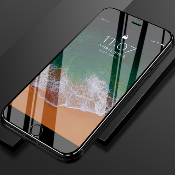 9D Metal Edge HD Surface Screen Protector For iPhone X/6/7/8 Plus(BUY 2PCS TO GET 15% OFF)