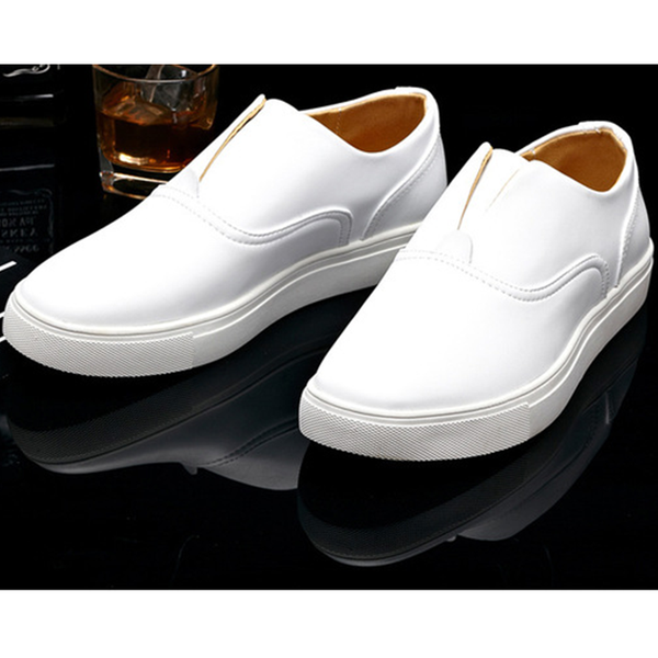Man's Fashion Full Grain Brand New Cut-outs Breathable Loafers