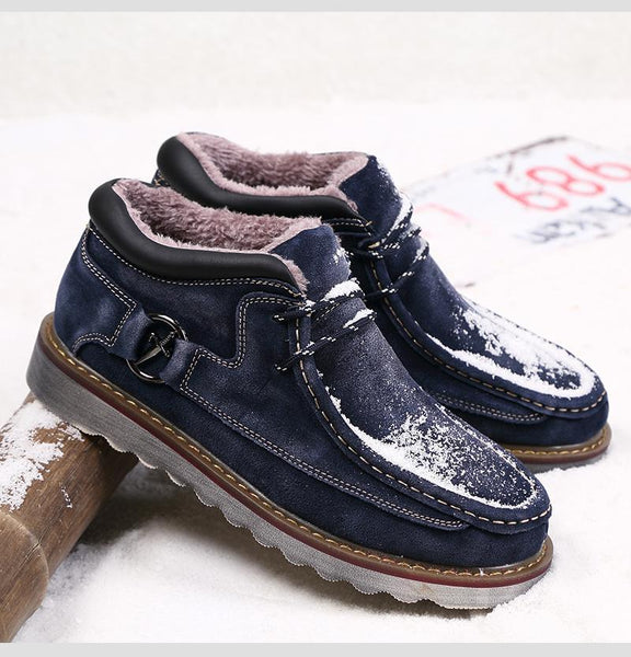 Winter Genuine Leather Casual Snow Boots