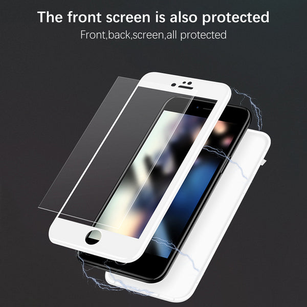 size 40 56c0b 08a0f 360 Degree Full Protection Magnetic Adsorption Case for iPhone X/7/8  Plus(BUY 2PCS TO GET 15% OFF)