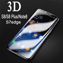 Load image into Gallery viewer, 3D Glasses Full Cover Tempered glass For Samsung Galaxy S8/S8+/S7/Note 8