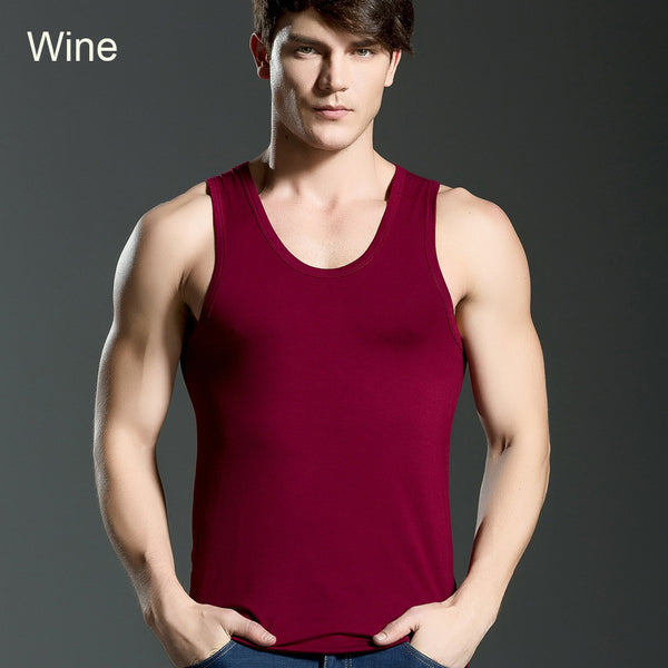 3 Pcs Men's Breathable Fitness Elastic Vest