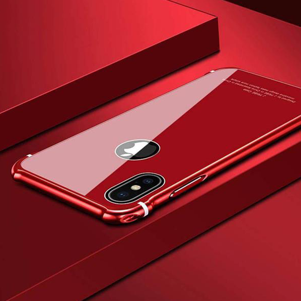 Aluminum Bumper Frame Case For Apple iPhone X
