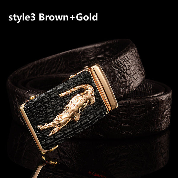 2018 High Quality Luxury Men Business Belts