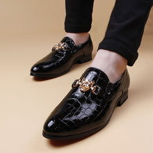 Load image into Gallery viewer, New Arrival Luxury Men Pointed Toe Dress Shoes