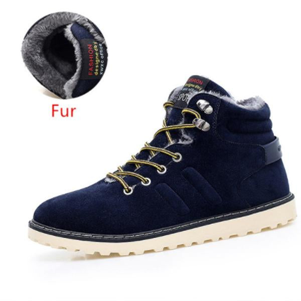 New Arrival Lace-Up Men Fashion Wear Resistant Handmade Ankle Boots