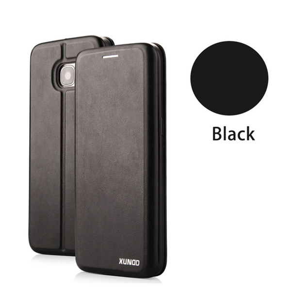Wallet Shockproof Luxury 360 Protective Flip Cover Case For Samsung