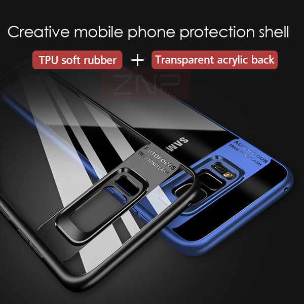 Full Protective Transparent Cases For Samsung Galaxy S8 /Note 8/ S7 Edge