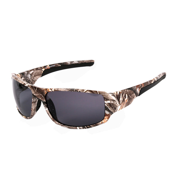 2018 Men Camouflage Fishing Driving Polarized Sunglasses