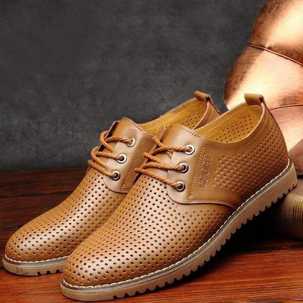 New Fashion Men's Breathable Casual Shoes Plus Size
