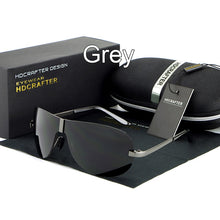 Load image into Gallery viewer, UV400 Rimless Men's Polarized Sunglasses