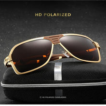 Load image into Gallery viewer, Alloy Material Polaroid Men's Sunglasses