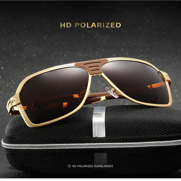 Alloy Material Polaroid Men's Sunglasses