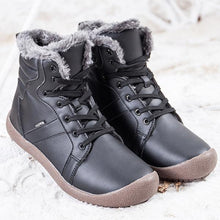 Load image into Gallery viewer, Casual Round Toe Snow Boots With Warm Fur