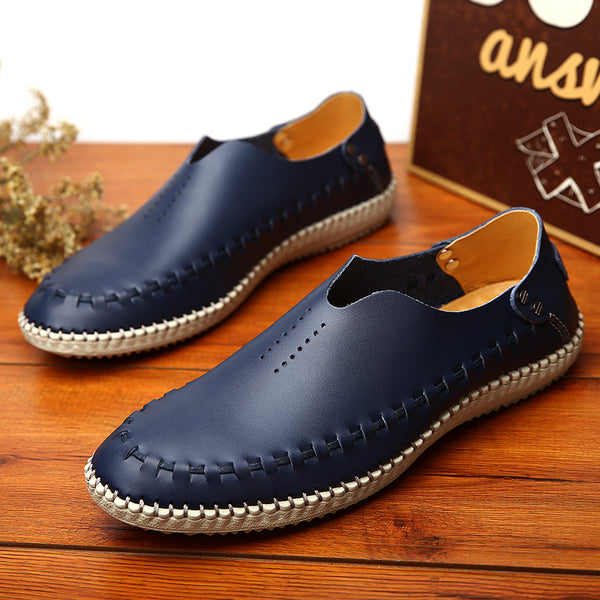 2018 Summer Men Flats Driving Shoes