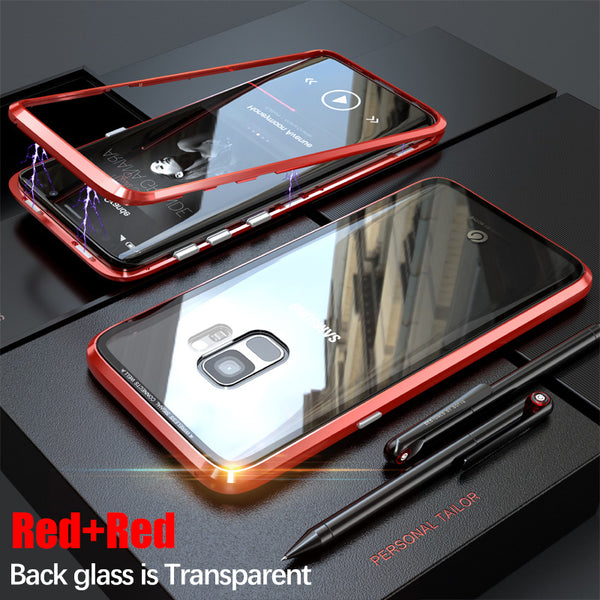 Magnetic Adsorption Metal Case For Samsung S9/S9 Plus(BUY 2PCS TO GET 15% OFF)