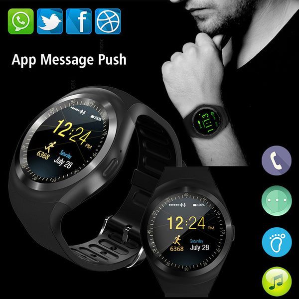 Bluetooth Fitness Smart Watch Android IOS