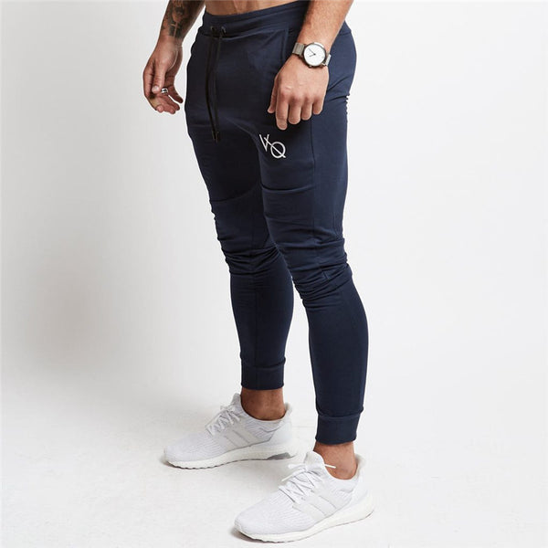 New Gyms Men Skinny Jogger Pants