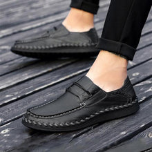 Load image into Gallery viewer, Male Soft Elastic Band Decorative Casual Loafer Oxford Shoes