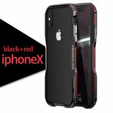 Load image into Gallery viewer, Aluminum Metal Exquisite Cutting Prismatic Case For iPhone X
