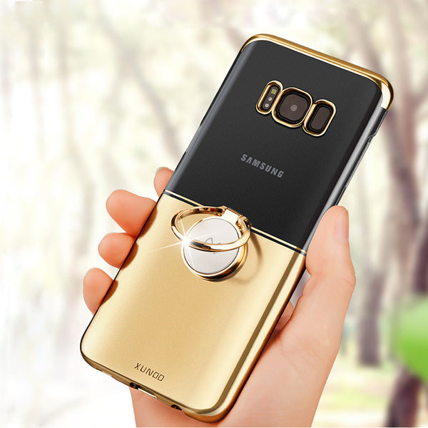Magnetic Car Ring Holder Cover For Samsung Galaxy s8/s8 plus