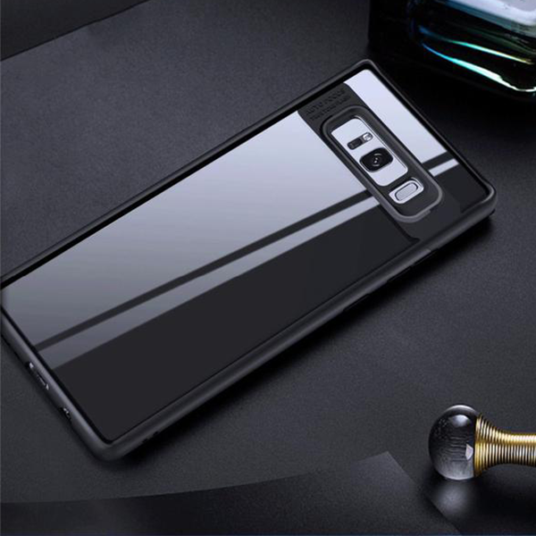 Transparent Hard PC Soft Silicone Protective Case For Samsung Galaxy Note 8 S8/S8 Plus