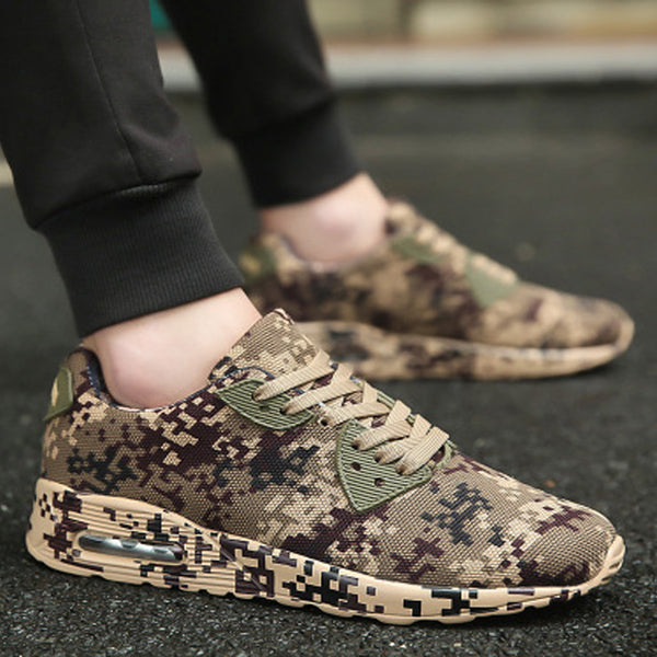 Outdoor Camouflage style Breathable Trainer Shoes for men(BUY 2 TO GET 10% OFF)